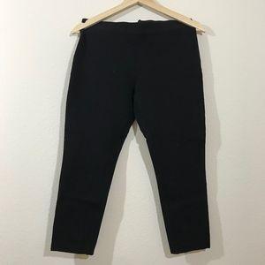 J Crew Pixie Capri Pants Black Size 8R